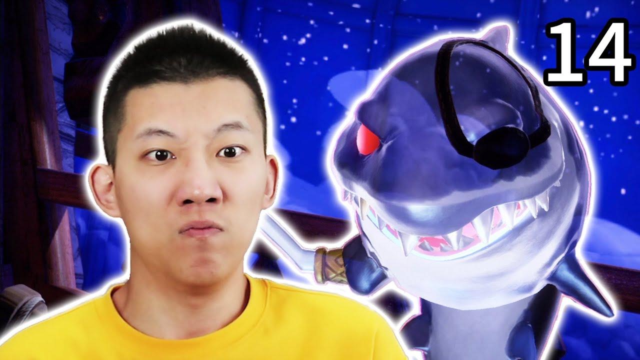 【路易吉洋樓3】#13,會飛的鯊魚要吃掉我!還能變成海盜船!Luigi's Mansion 3【鯉魚Ace】