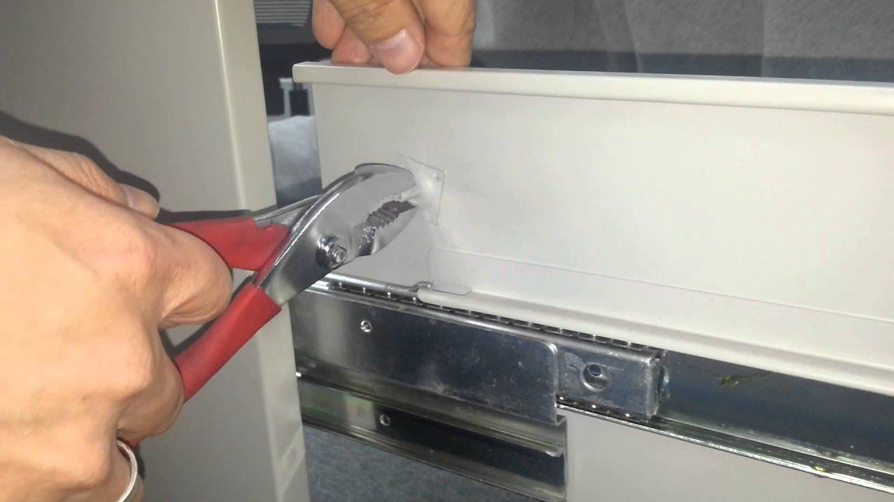 hon 4 drawer file cabinet drawer removal  Home Decor