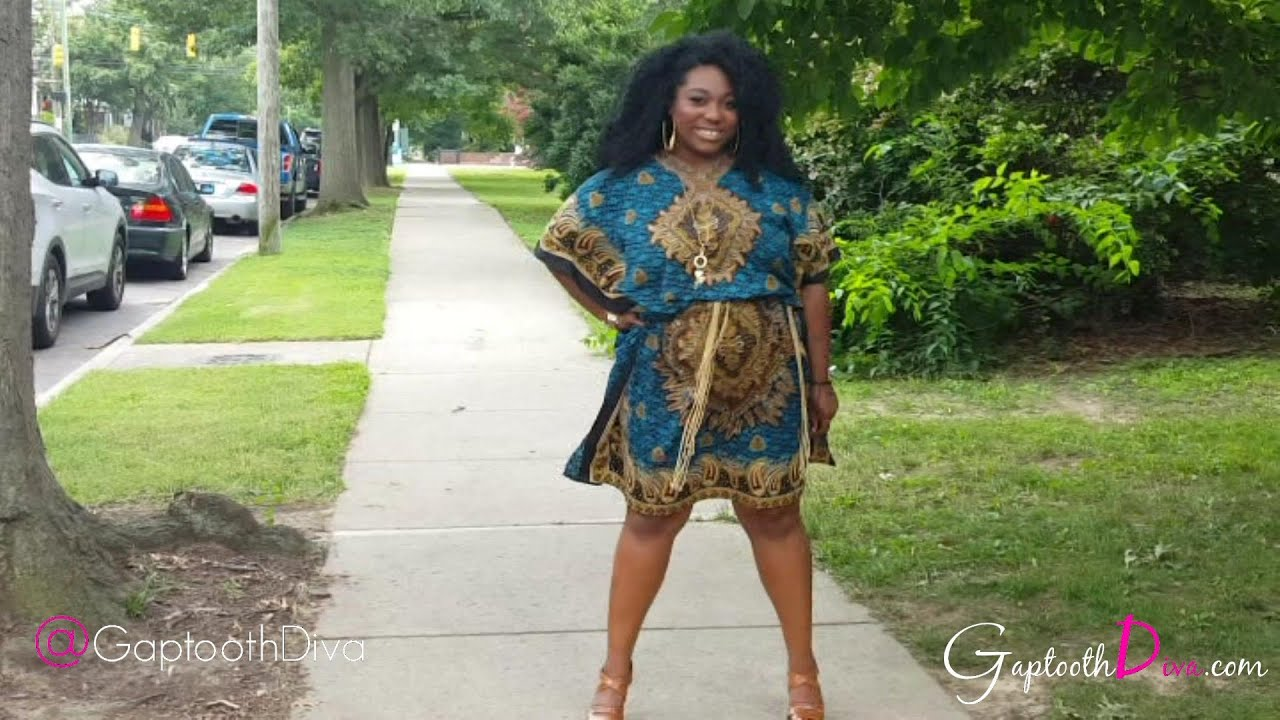 OOTD - From MUUMUU to Amazing Culturally Inspired Plus Size DIY Look