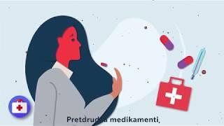 Kā rīkoties, ja esi pēkšņi saslimis? (Animācija)