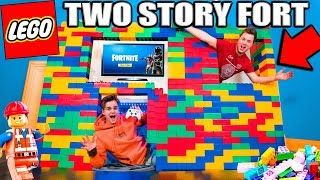 worlds-biggest-2-story-lego-fort-24-hour-challenge