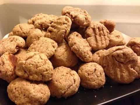 Homemade dog treats peanut butter coconut oil