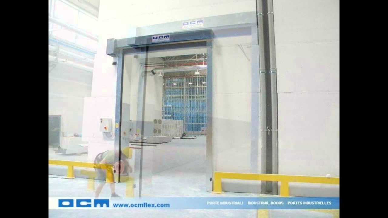 Puertas rapidas enrollables para las naves industriales puertas enrollables automaticas youtube - Puertas para naves industriales ...