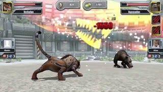 Jurassic park builder tournament Glacier Bronze section Thylacosmilus
