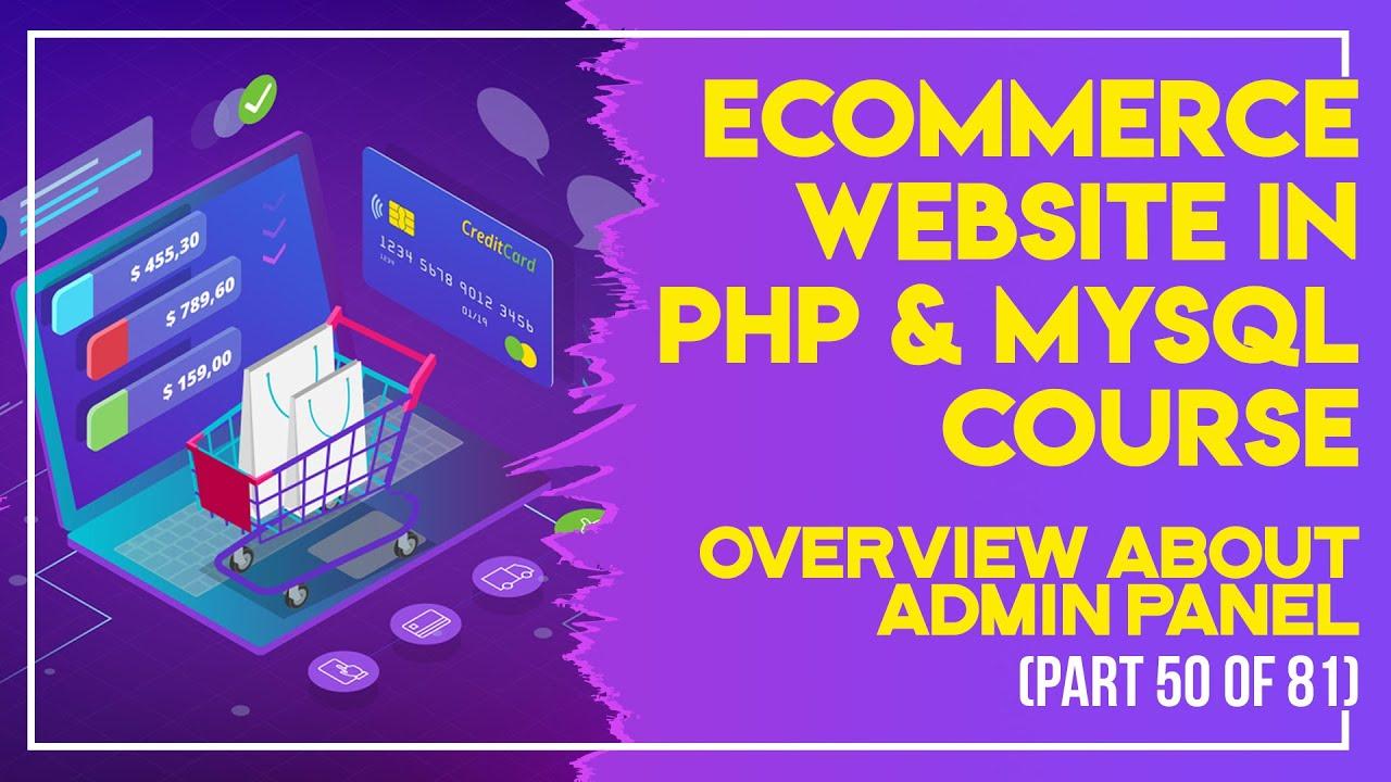 E-Commerce website in PHP & MySQL in Urdu/Hindi part 50 customer delete account