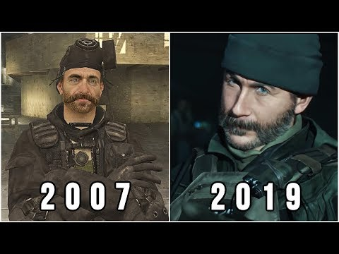 Evolution Of Call Of Duty Modern Warfare Series 2007-2019