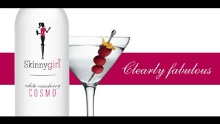 Skinnygirl White Cranberry Cosmo - On The Rocks