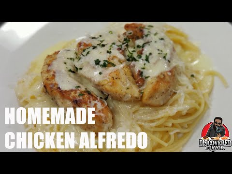 Better Than Olive Garden Homemade Chicken Alfredo