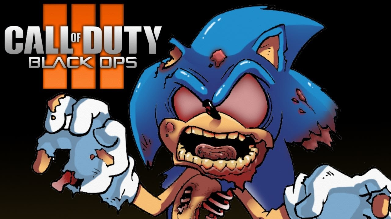 bo3 sonic zombies map call of duty black ops 3 mod gameplay