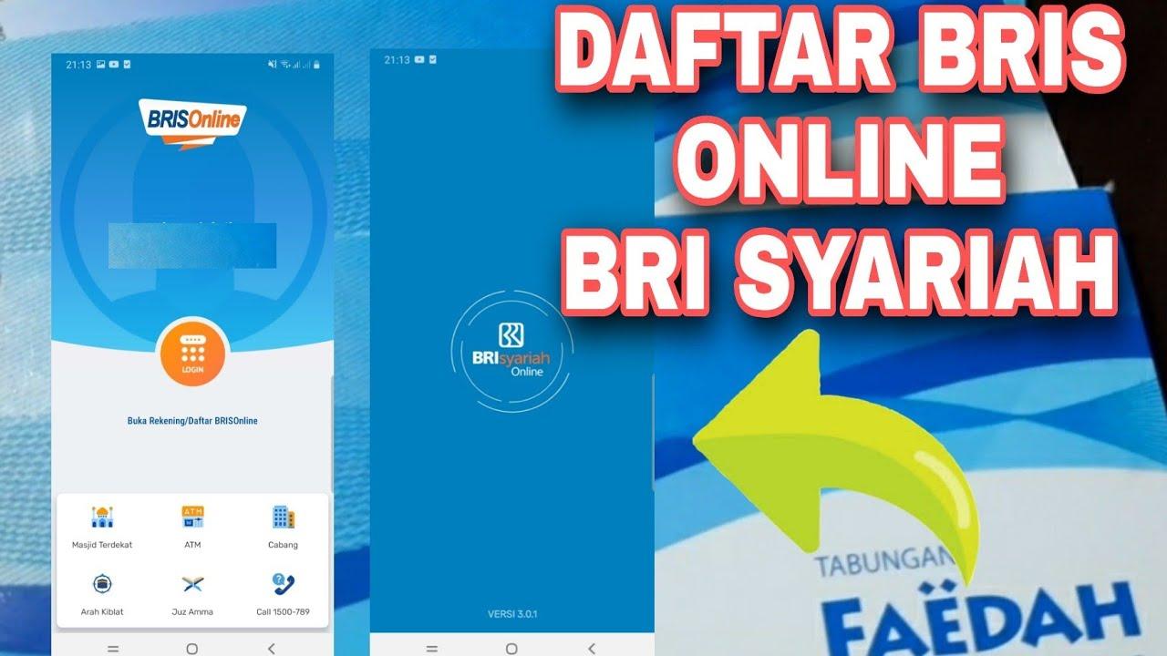 Cara Daftar Internet Banking Bri Syariah Dengan Aplikasi Bris Online Youtube