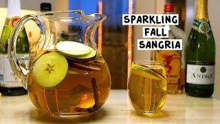 Sparkling Fall Sangria