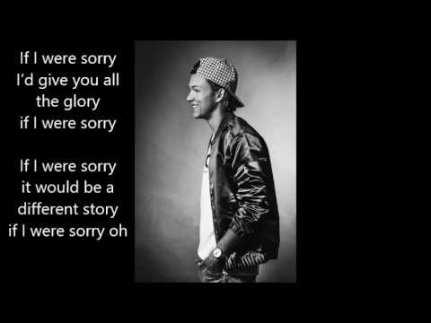 Frans - If I Were Sorry lyrics (Melodifestivalen)
