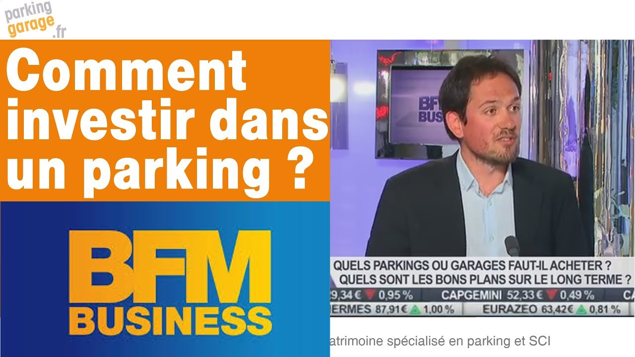 comment investir dans un parking bfm tv youtube. Black Bedroom Furniture Sets. Home Design Ideas