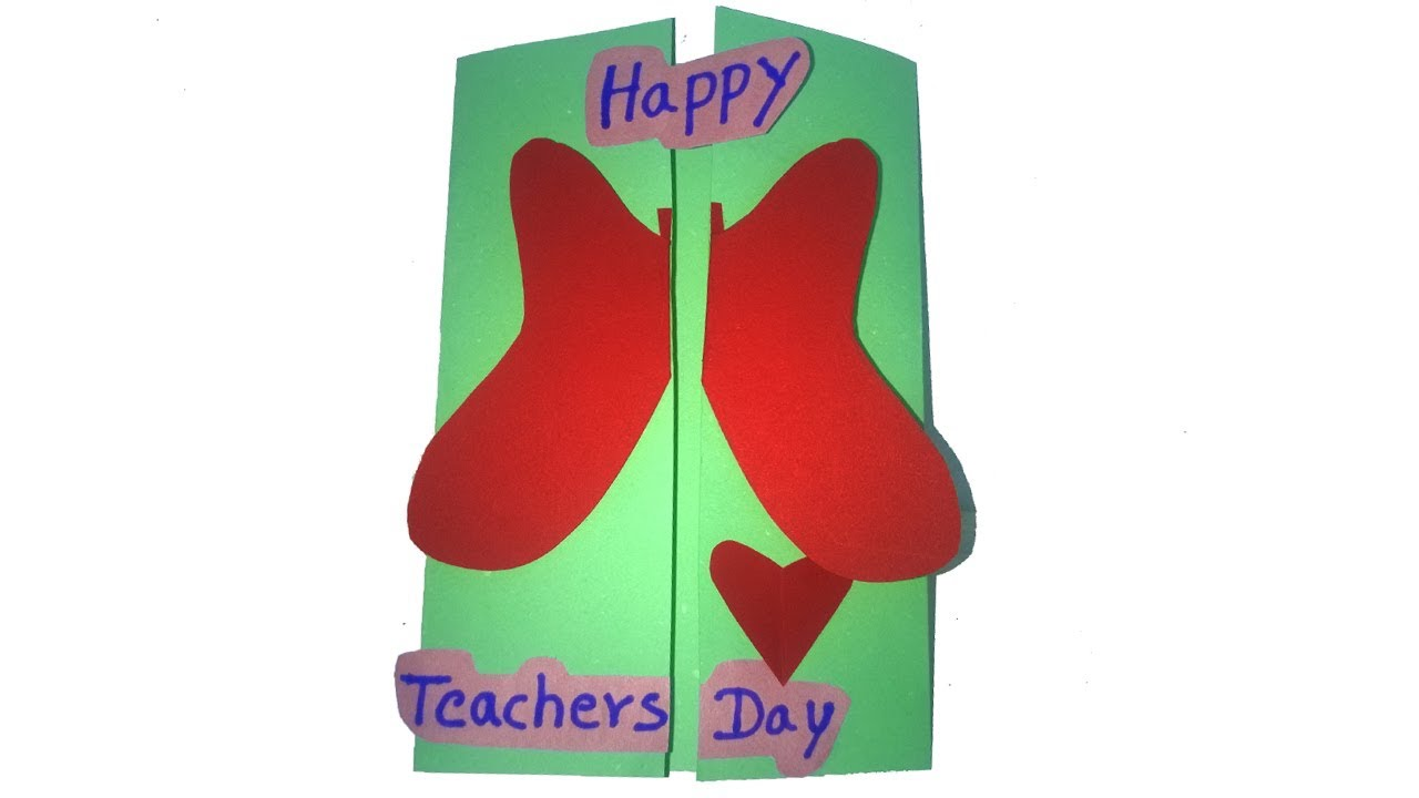 how to make easy greeting cards for teachers