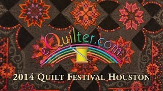 Houston Quilt Festival 2014 - Luana's Favorite Quilts