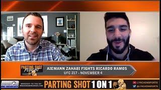 UFC 217's Aiemann Zahabi talks Ricardo Ramos, Layoff and Streets of Rage 2