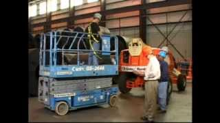 Safe Operation of Scissor & Boom Lifts