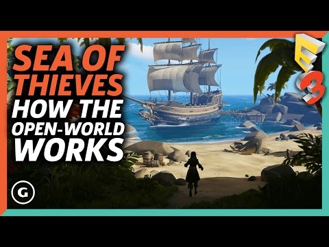 How Sea of Thieves' Open-World Works | E3 2017 GameSpot Show