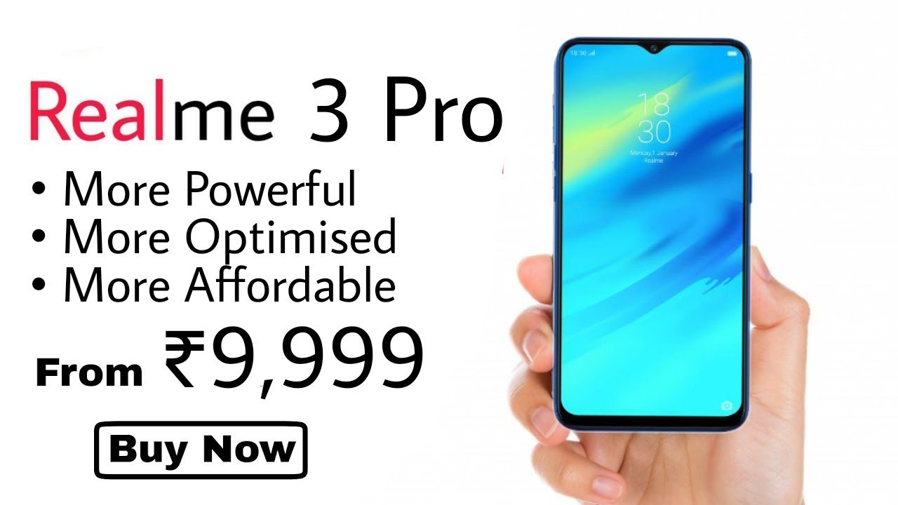 Realme 3 Pro - Unboxing & Price | Specifications