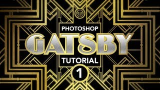 "Photoshop Tutorial: ""Gatsby"" Art-Deco Poster Effect (Part 1 of 3)"