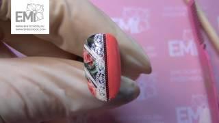 Рисуем вензеля! Кружевной маникюр на гель-лаке
