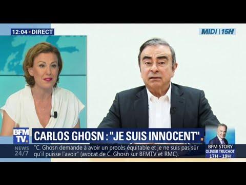 Qu'a-t-on appris de la vidéo de Carlos Ghosn diffusée ce mardi matin par ses avocats?