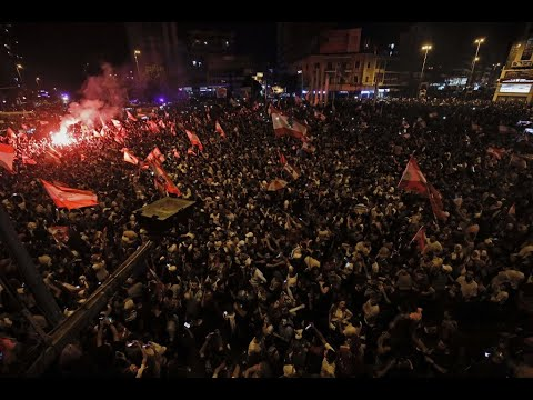 استمرار التظاهرات الليلية في عدة مناطق في العاصمة بيروت  - نشر قبل 8 ساعة