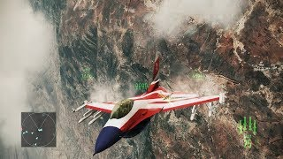 Amazing Game about Modern Jet Fighters ! US Air Force in Ace Combat Assault Horizon