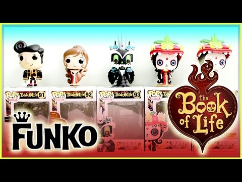 The Book Of Life - Funko Pop Movies - Colorful Fun Animated Movie Collectible!