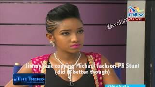 Jimmy Gait kurira ta kaana cecenini ya NTV akihanania na Michael Jackson