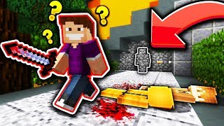 HOW DID HE NOT SEE ME?! (Minecraft Murder Mystery Camo Trolling)