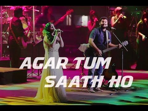 Agar tum saath ho - Live |Arijit Singh | Amrita Singh | Tamasha