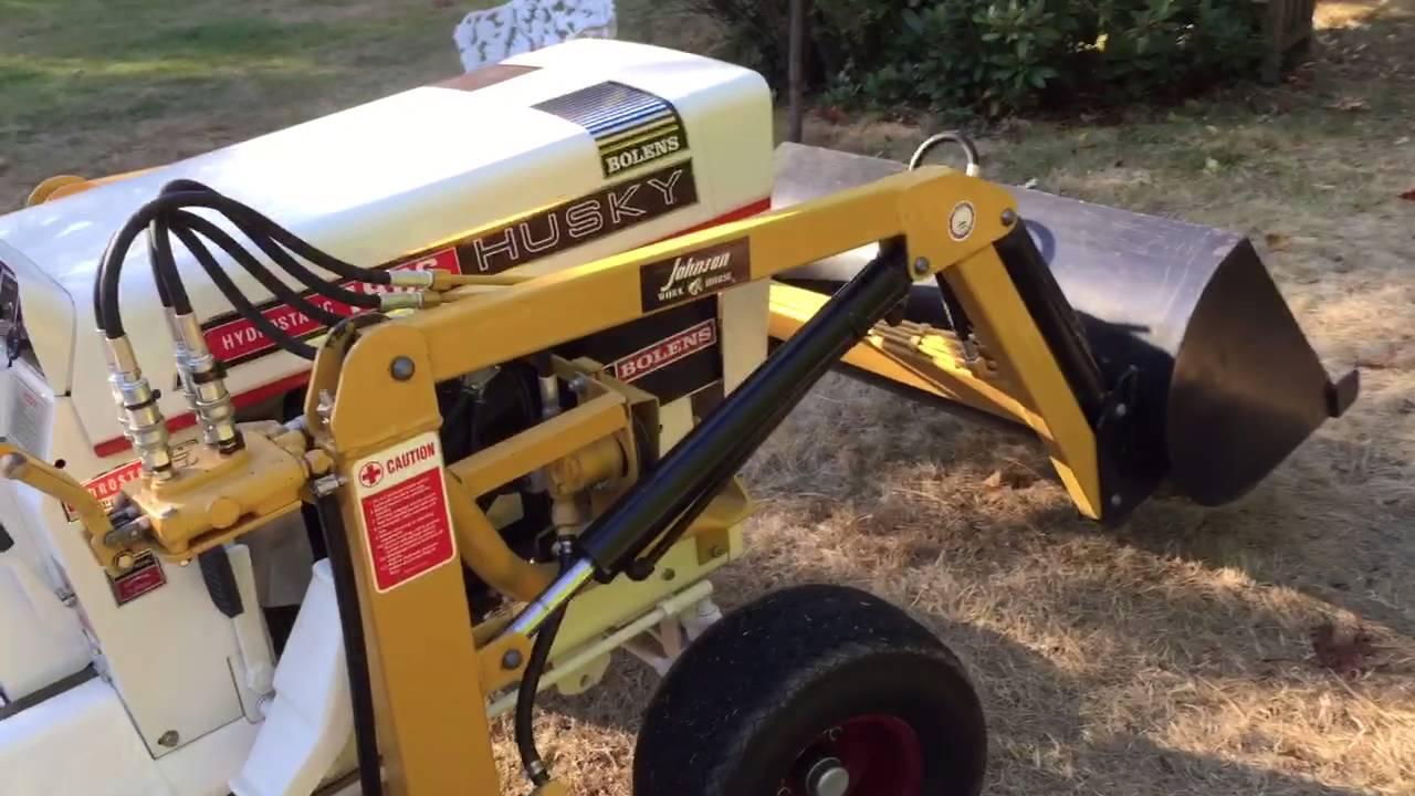 Bolens HT23 Johnson 14 Loader Project by Husky Tractor