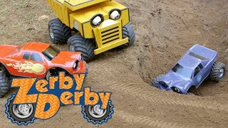 Zerby Derby | BRIDGE OR DITCH | Full Episodes | Kids Cars