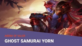 Ghost Samurai Yorn Skin Preview - AOV Pro
