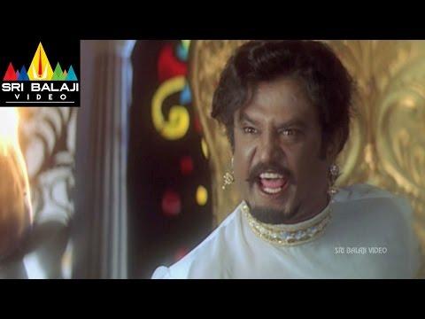 Chandramukhi Telugu Movie Part 13/14 | Rajinikanth, Jyothika, Nayanatara | Sri Balaji Video