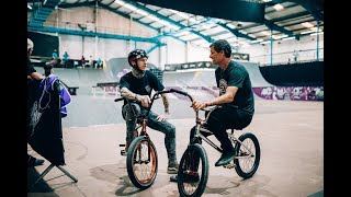 Mark Webb Rides BMX At Nass Festival 2017