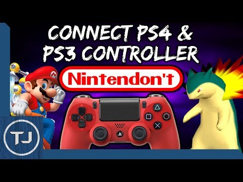 How To Connect PS4/PS3 Controller To Nintendon't (Guide 2017!)