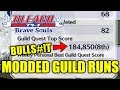 Bleach Brave Souls : MODDED GUILD RUN BS