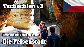 Abenteuer im Felsenlabyrinth Kalich - Chléviště | Tschechien #3