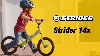 The Strider 14x Sport - Instant Riding Success