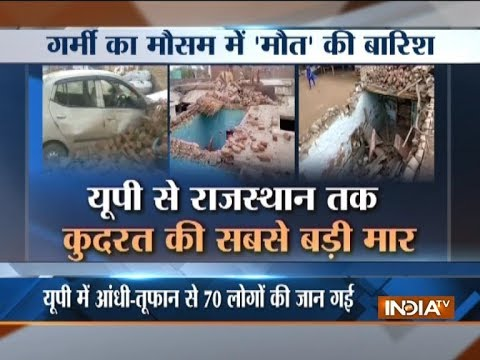 Devastating dust storms in northern India claim over 110 lives; another may hit Rajasthan, UP