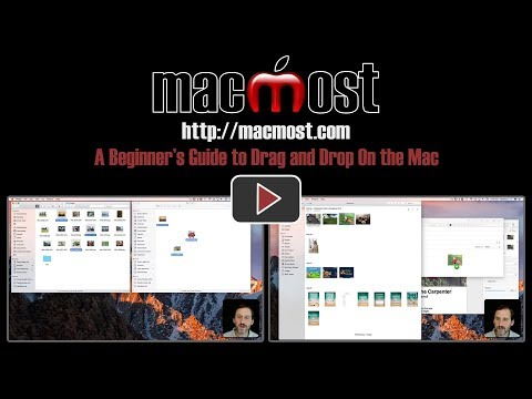 A Beginner's Guide to Drag and Drop On the Mac (#1488)