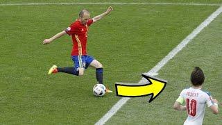 המסירות הכי גאוניות בהיסטוריה של הכדורגל!!! | זידאן,רונאלדו ועוד..