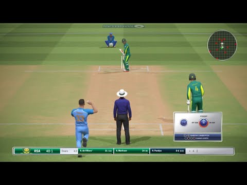 2ND T20 India vs South Africa 2018  Highlights//Ashes Cricket Gameplay// 21st feb//