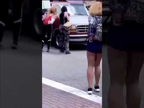 Truck Driver Accelerates Through Tallahassee FL Protest, Strikes Demonstrators