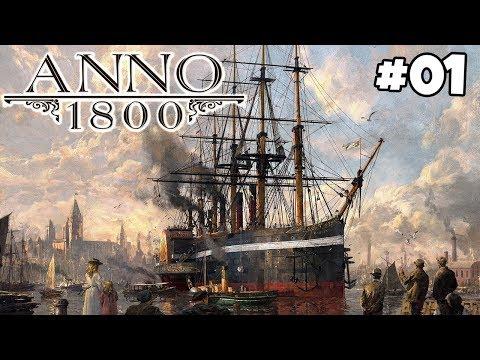 ANNO 1800 #01 - Neues Abenteuer Am Ende Der Welt | Kapitel 1 Deutsch Gameplay