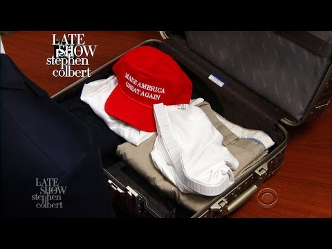 Thumbnail: Trump Packs A Suitcase For His First Foreign Trip