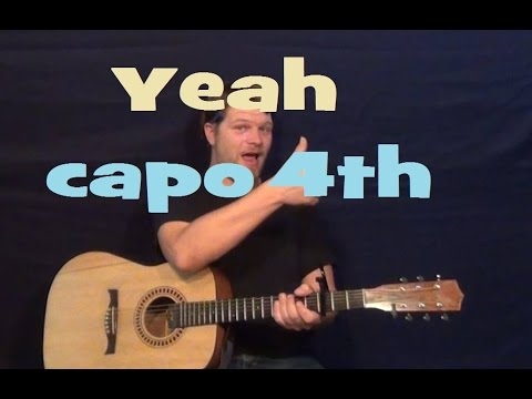 Yeah (Joe Nichols) Easy Guitar Lesson How to Play Tutorial