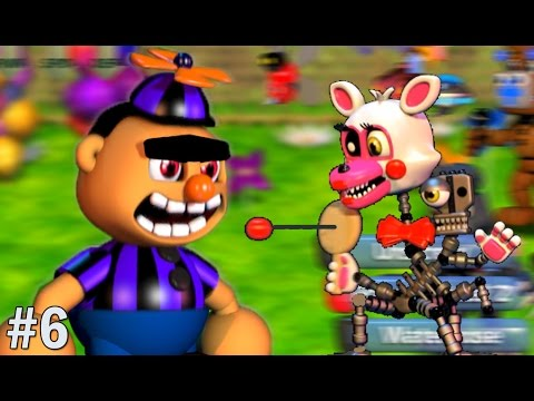 Mangle Plays: FNAF World #6 || THE SEARCH FOR PIRATE BOOTY